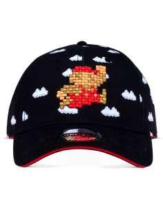 Gorra 8 Bit Super Mario Bros Nintendo