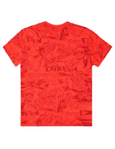 Camiseta All Over Deadpool Marvel
