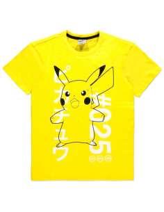 Camiseta Shocked Pika Pokemon