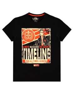 Camiseta Timeline Poster Loki Marvel