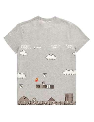 Camiseta 8 Bit Super Mario Bros Nintendo