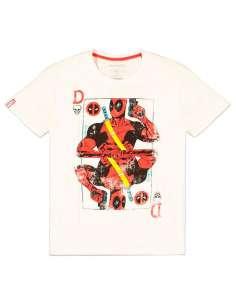 Camiseta Card Deadpool Marvel