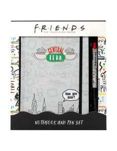 Set cuaderno A5 boligrafo Central Perk Friends