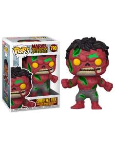 Figura POP Marvel Zombies Red Hulk