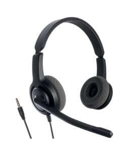 AURICULARES IP AXTEL AXH V28PCD VOICE DUO NC CAB JACK 35MM COMPA TEL ESCR SOF S