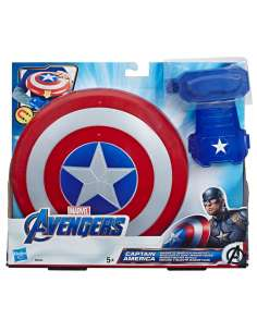 Escudo y Guante Magneticos Capitan America Vengadores Avengers Marvel