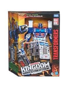 Figura Leader Ultra Magnus Earth Transformers War for Cybertron Trilogy