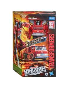 Figura Voyager Inferno Transformers War for Cybertron Trilogy