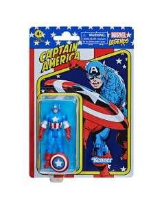 Figura Retro Capitan America Marvel 95cm