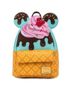 Mochila Ice Cream Mickey Minnie Disney Loungefly