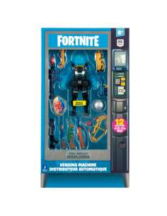 Set Maquina Vending figura Rippley Fortnite
