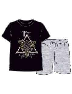 Pijama Deathly Hallows Harry Potter infantil