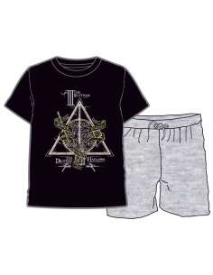 Pijama Deathly Hallows Harry Potter adulto