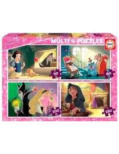 Puzzle Villanas Disney 50 80 100 150pz