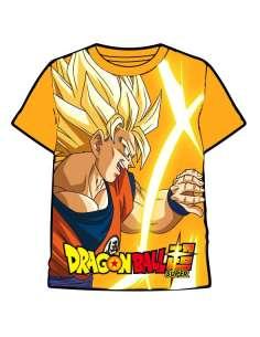 Camiseta Goku Super Saiyan Dragon Ball infantil