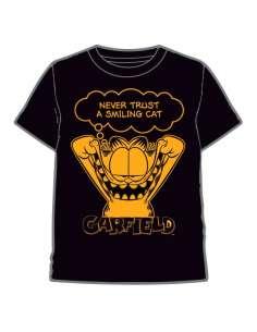 Camiseta Black Garfield infantil