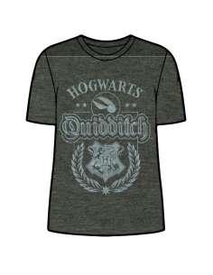 Camiseta Hogwarts Qudditch Harry Potter adulto mujer