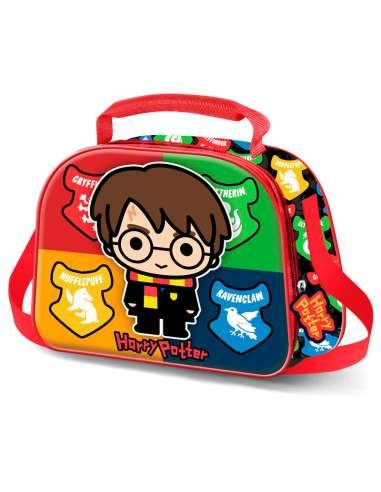Bolsa portameriendas 3D Wizard Harry Potter