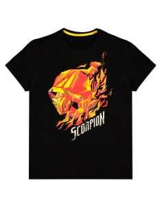 Camiseta Scorpion Flame Mortal Kombat