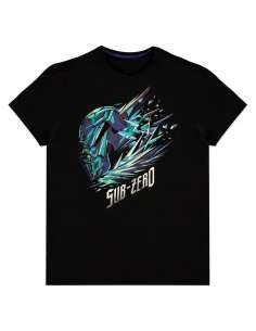 Camiseta Sub Zero Ice Mortal Kombat