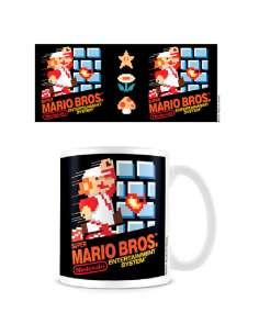 Taza Portada NES Super Mario Nintendo