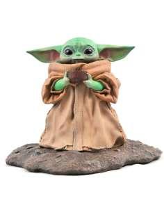 Estatua Premierl Collection The Child Soup The Mandalorian Star Wars 17cm