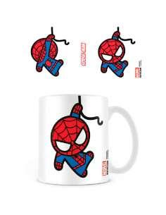 Taza Kawaii Spiderman Marvel