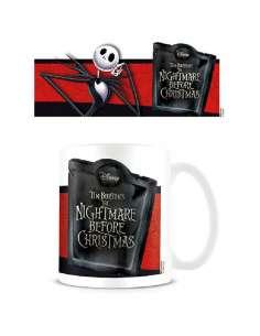 Taza Jack Banner Pesadilla Antes de Navidad Disney