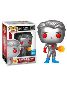 Figura POP DC Comics Captain Atom Exclusive
