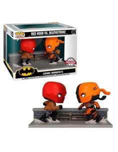 Figura POP DC Comics Red Hood vs Deathstroke Exclusive