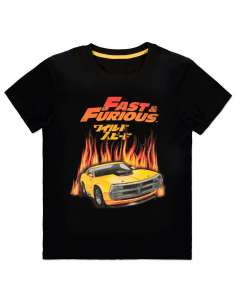 Camiseta Hot Flames Fast and Furious