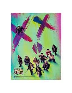 Poster cristal XX Escuadron Suicida