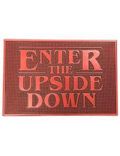 Felpudo Enter the Upside Down Stranger Things