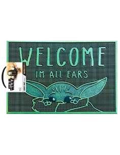 Felpudo Welcome Im All Ears Yoda The Child Star Wars The Mandalorian