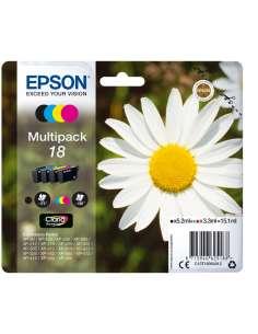 TINTA EPSON 18 MULTIPACK 4 XP102 XP205 XP305 XP405