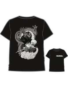 Camiseta Goku Shenron Dragon Ball infantil