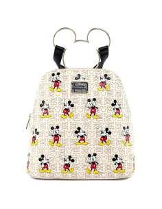 Mochila Mickey Gold Disney Loungefly 25cm