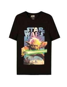 Camiseta Yoda Poster Star Wars