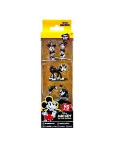 Pack 5 figuras Nano Metalfigs Mickey Disney 4cm