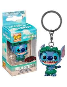 Llavero Pocket POP Disney Lilo and Stitch Stitch In Hula Skirt Exclusive