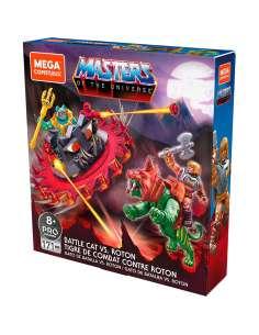 Construccion Mega Contrux Battle Cat vs Roton Masters of the Universe Origins