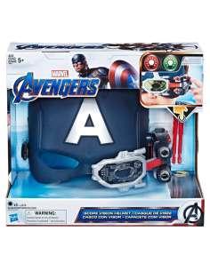 Casco visor Capitan America Marvel