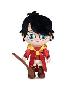 Peluche Harry Quidditch Harry Potter 29cm
