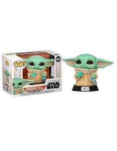 Figura POP Star Wars Mandalorian Grogu The Child with Cookie