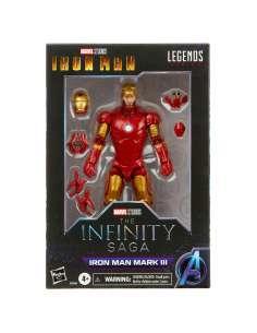 Figura Iron Man Mark II Iron Man The Infinity Saga Marvel Legends 15cm