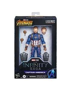 Figura Capitan America Marvel Legends 15cm