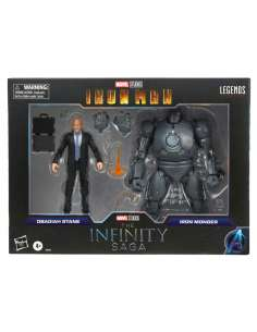Set 2 figuras Obadiah Stane y Iron Monger Iron Man The Infinity Saga Marvel Legends 15cm