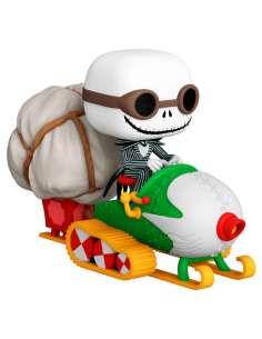 Figura POP Pesadilla Antes de Navidad Jack with Goggles Snowmobile
