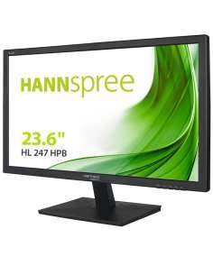 MONITOR HANNS HL247HPB 236 1920x1080 5MS VGA DVI HDMI ALTAVOCES NEGRO