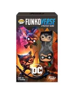 Juego mesa Ingles POP Funkoverse DC Comics 2fig